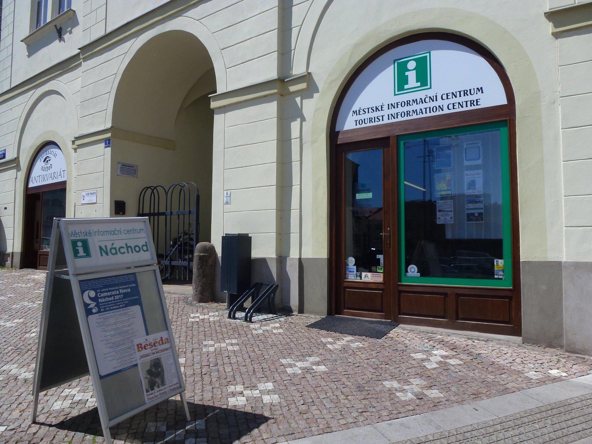 Pobočky Městského informačního centra Náchod do odvolání uzavřeny