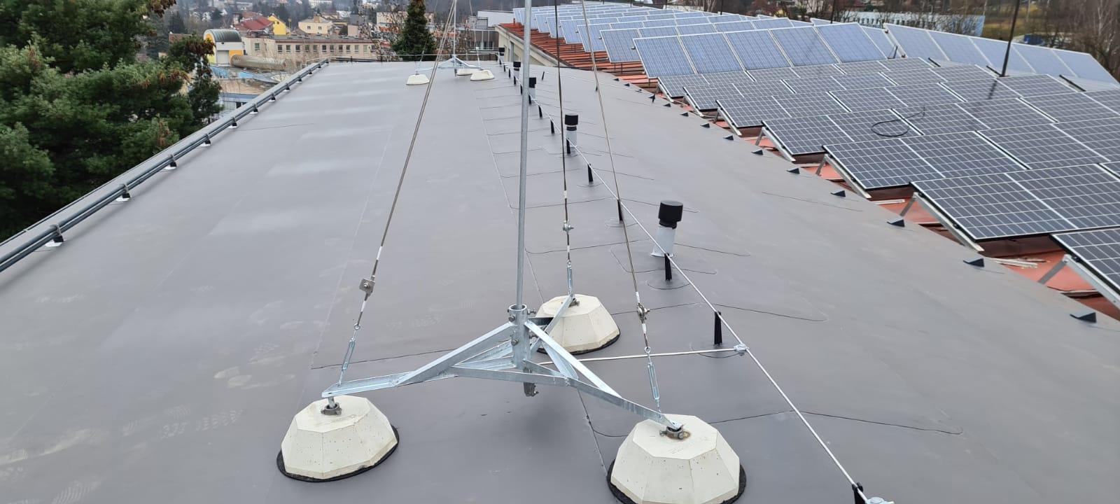 ZŠ T. G. Masaryka vNáchodě má opravenou poškozenou část střechy