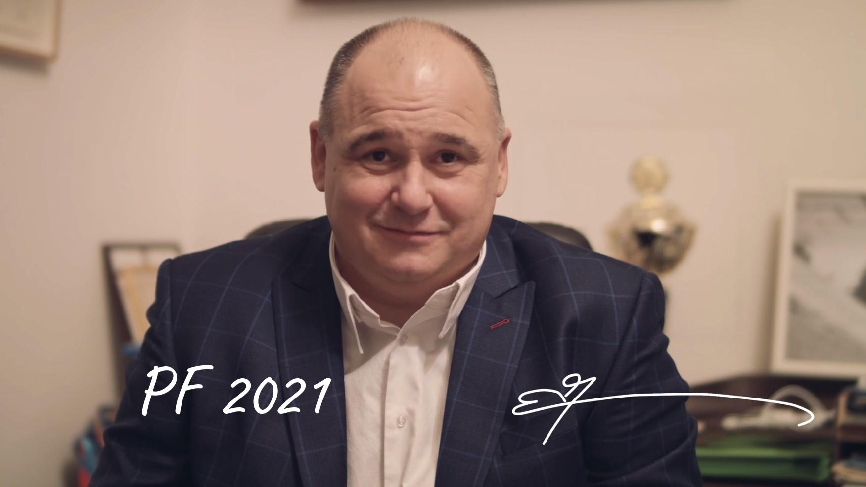 Náchod - novoroční přání 2021