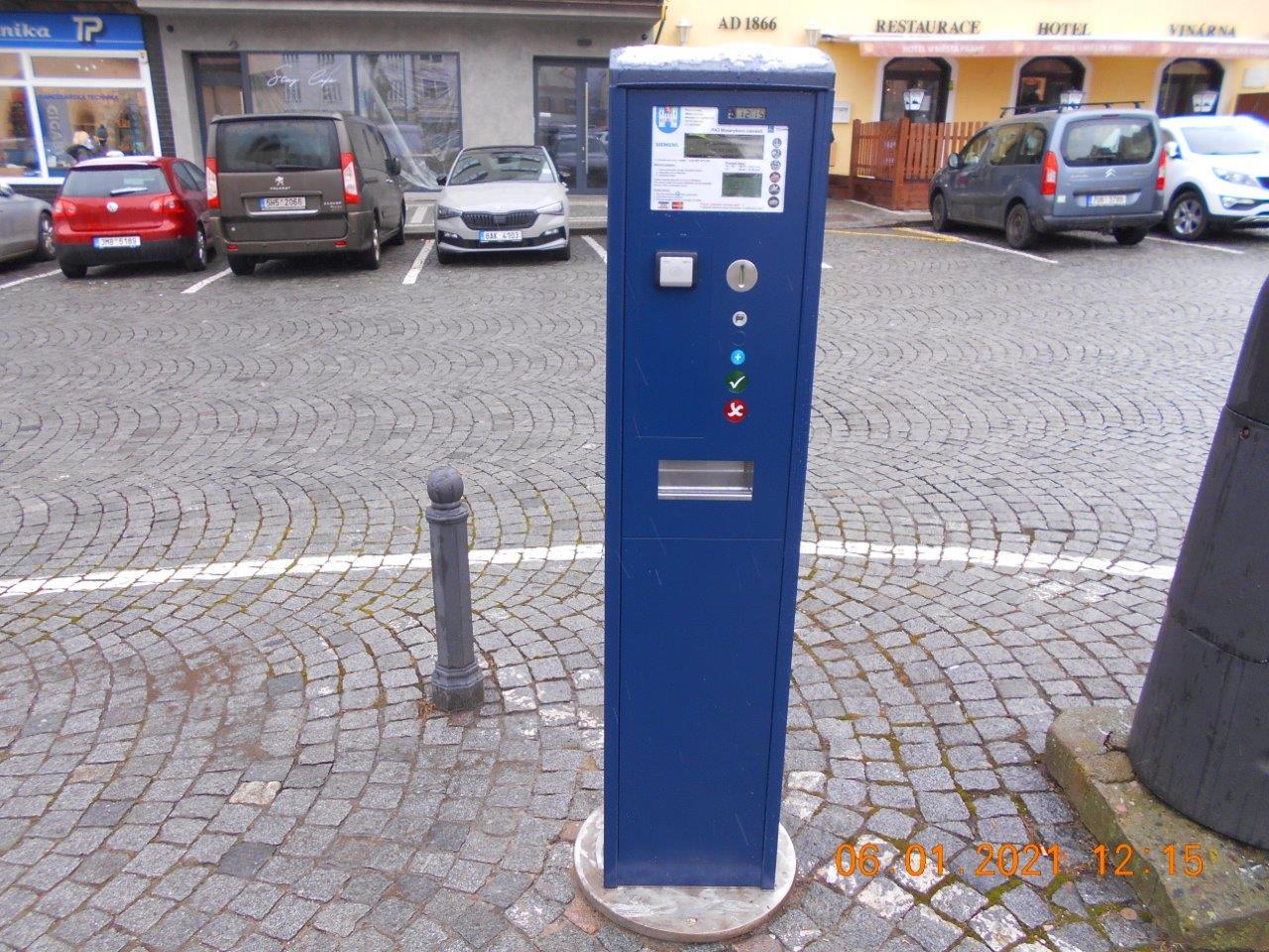 Parkování lze nově platit i BEZKONTAKTNĚ!