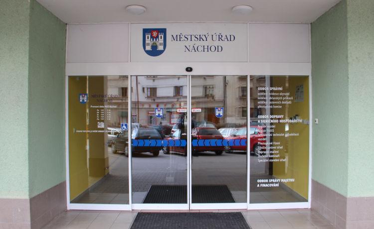 Provoz Městského úřadu v Náchodě od 15.2.2021