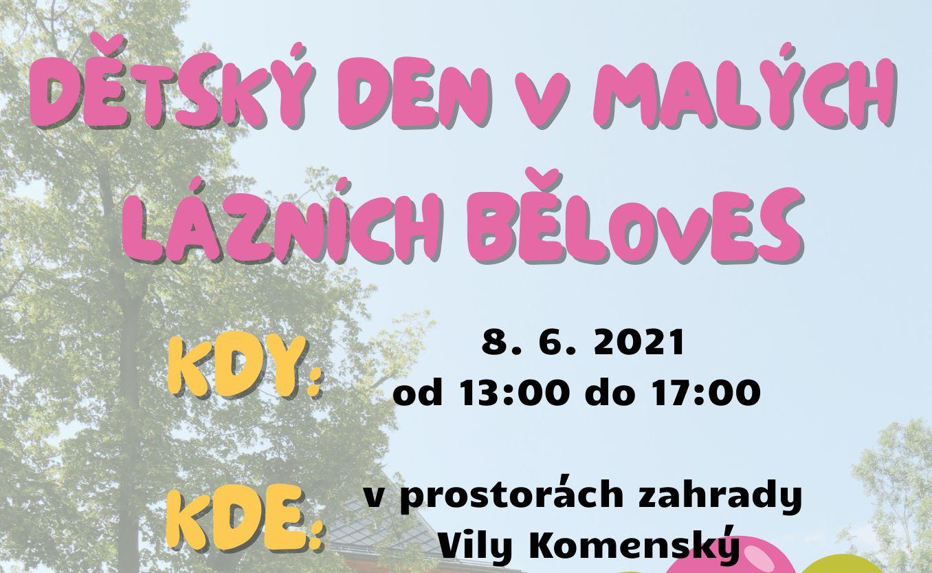 Dětský den v Malých lázních Běloves
