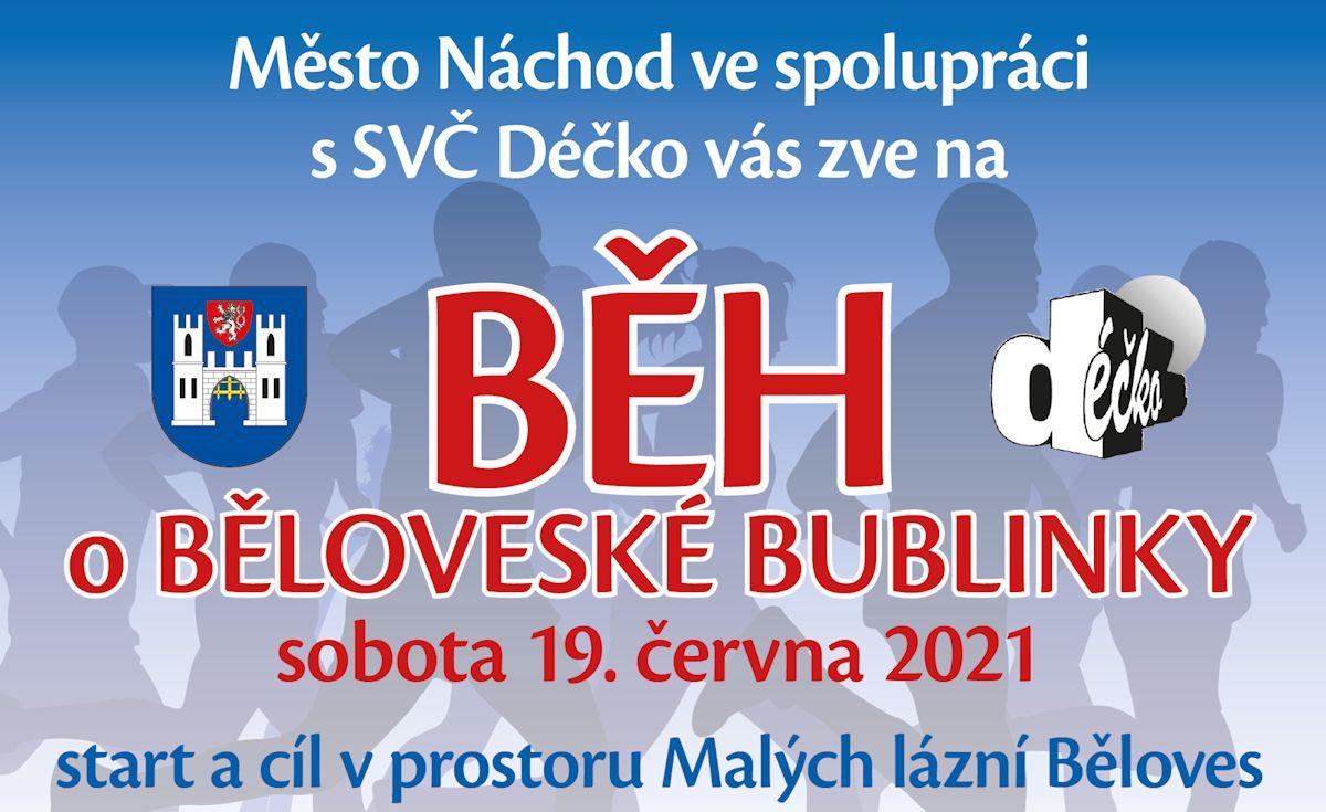Běh o Běloveské bublinky