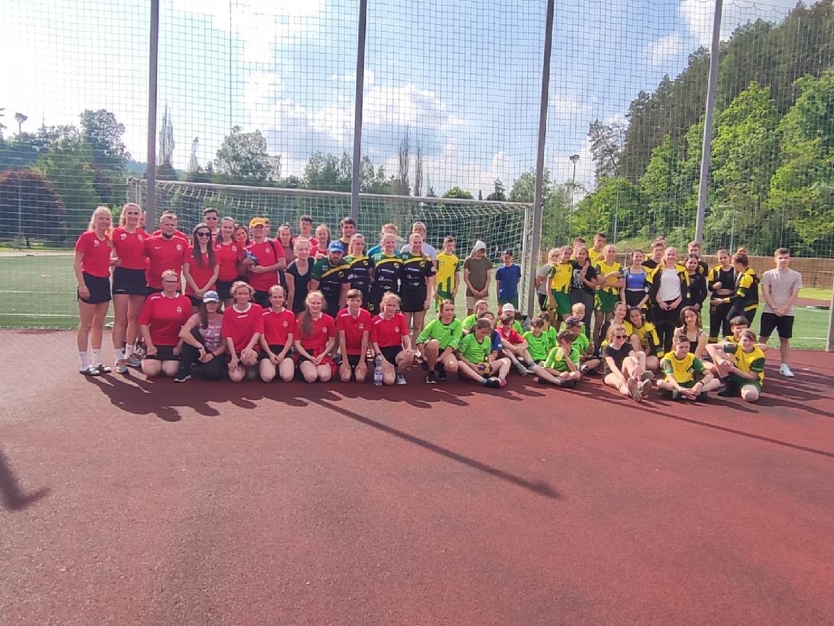 SK Plhov - Náchod, z.s. korfbalový oddíl pořádal turnaj pro děti, dorost a dospělé