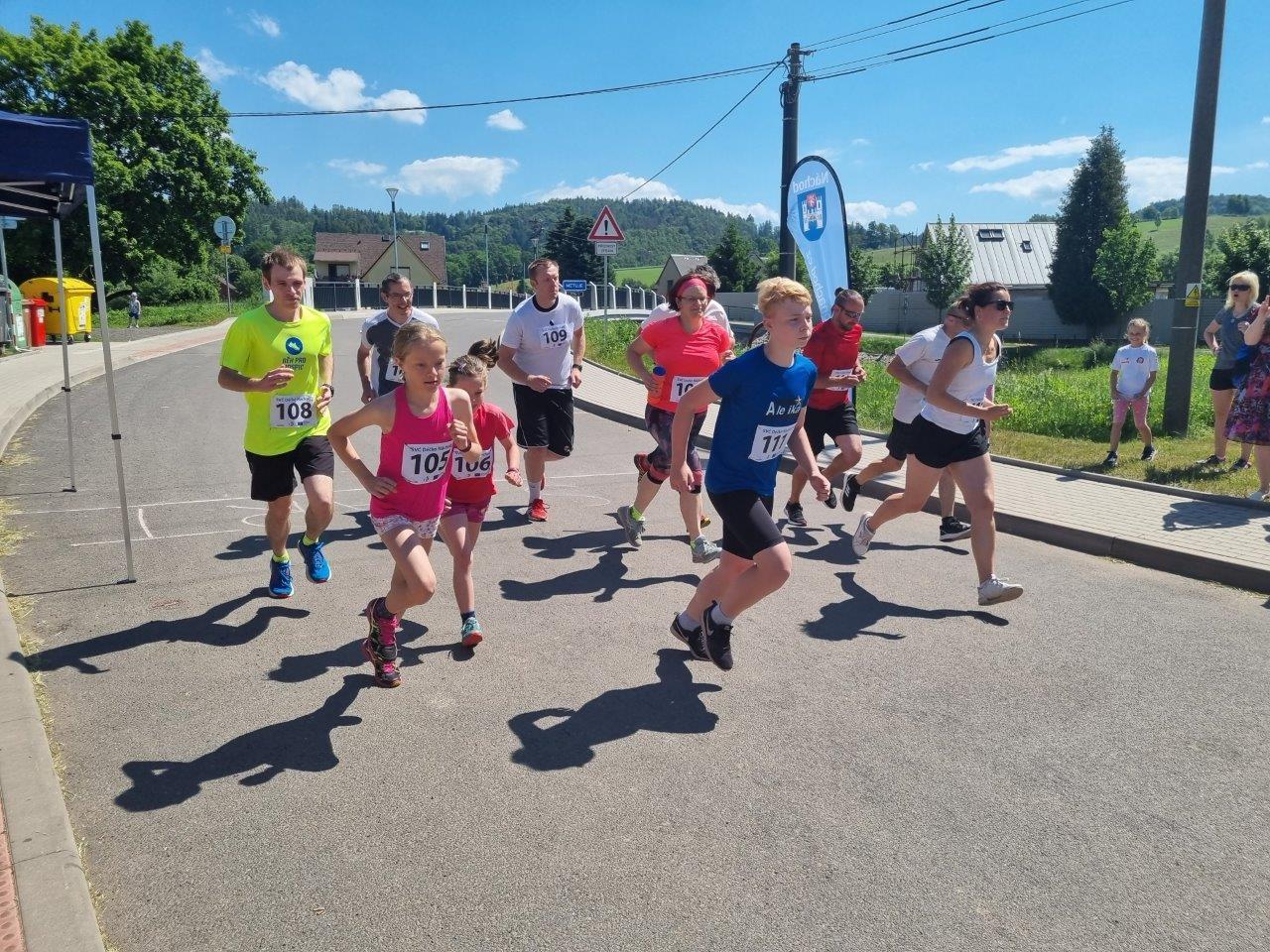 Běh o Běloveské bublinky zná své vítěze