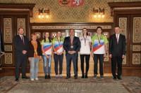 Vedení města poděkovalo sportovcům za reprezentaci Náchoda