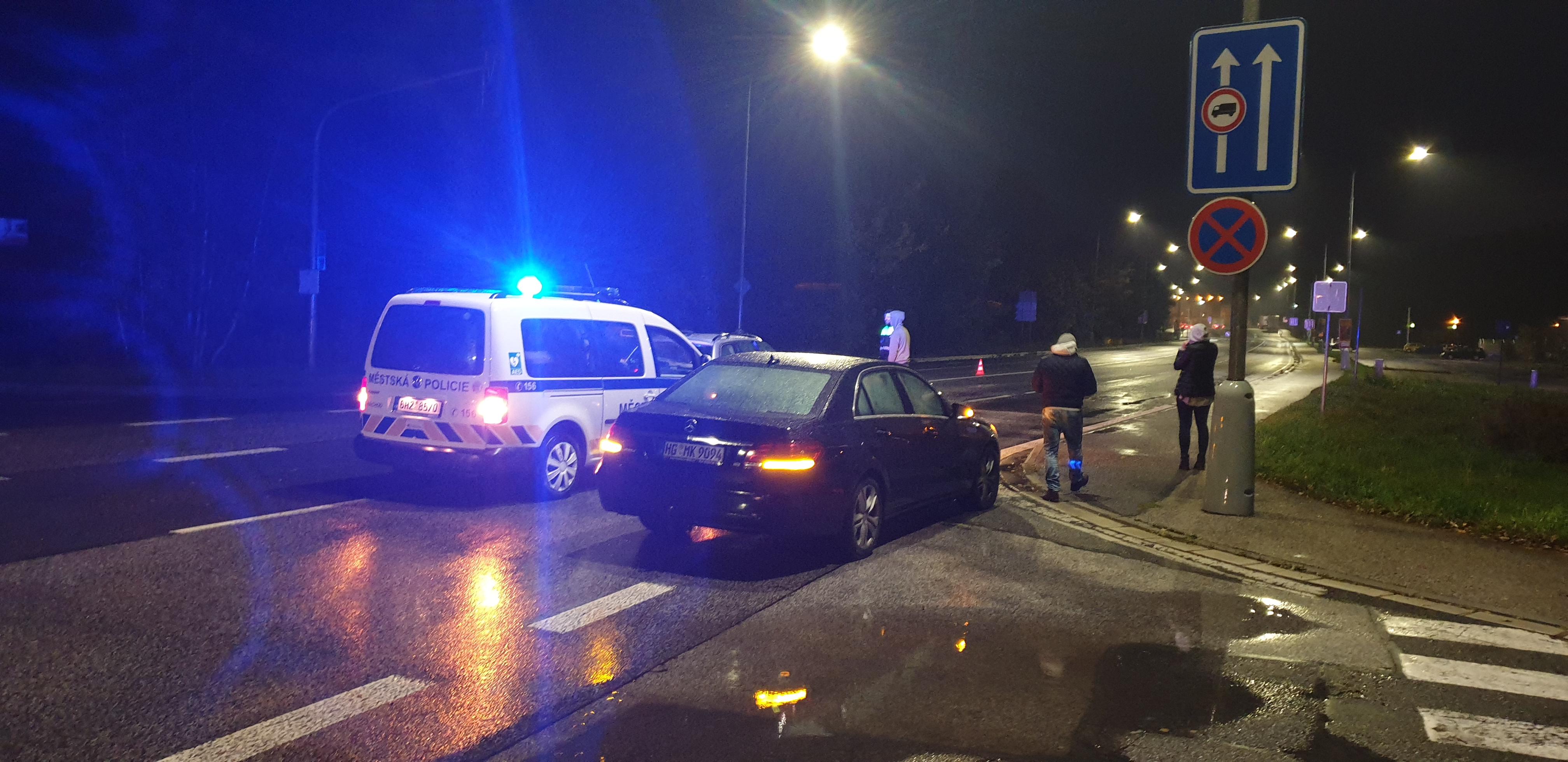 Dopravní nehoda u polských hranic
